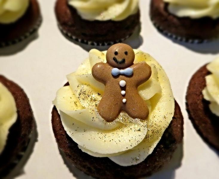 Gingerbread cuppie